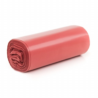 Bin Liners 160l ldpe red a-25