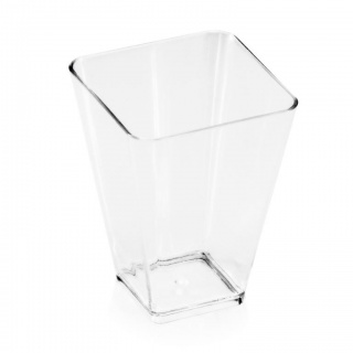 Pucharek Cup Square transparent a-20 720020