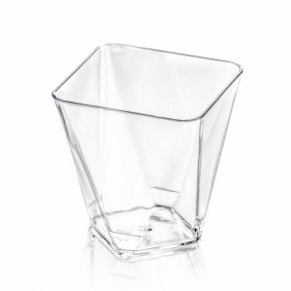 Pucharek Cup Diamond transparent a-25