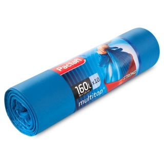 Bin Liners 160l Multi Top blue 134442 a-10