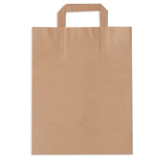Paper bag with handle 25x15x41 a-250