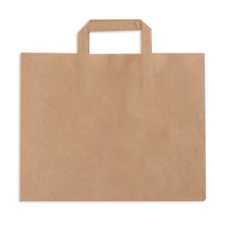 Paper bag with handle 317x218x245 a-250 catering