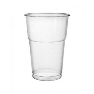 Plastic cup transparent Pet 400 ml E200102 a-50