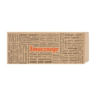 Brown French Hot-Dog Envelope 75x30x170 a-200