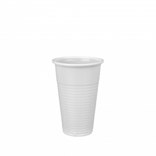 Plastic cup PP White 200 ml G600247 a-100