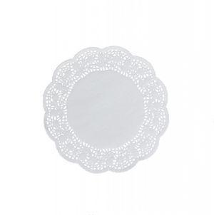 Round paper decorate napkins 10 cm a-100