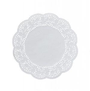 Round paper decorate napkins 20 cm a-100
