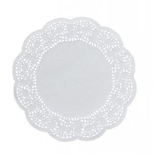 Round paper decorate napkins 24 cm a-100