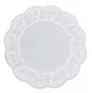 Round paper decorate napkins 30 cm a-100